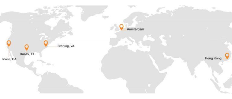 Rapidscale Network Area Map