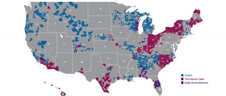 Spectrum Network Area Map