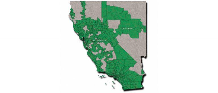 Utility Telecom Network Area Map
