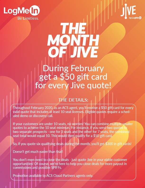 Month of Jive Promo